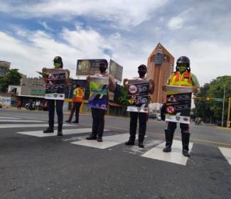 Funcionarios de PoliGirardot dan inicio al Plan de Convivencia Ciudadana
