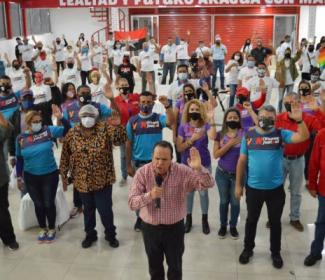"""Juramentado circuito 1 del comando de campaña """"Darío Vivas"""" en Aragua"""