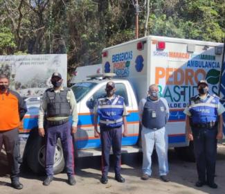 Policía de Girardot garantizó las medidas de prevención en Choroní