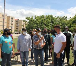 Gobierno Regional y Municipal desplegaron Plan Cayapa en Guasimal